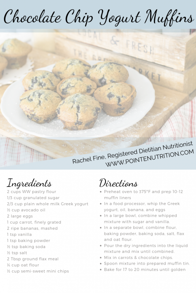 healthy muffins for dancers