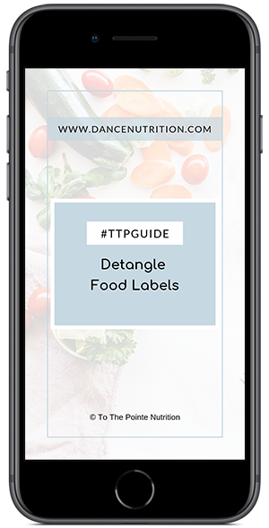 Detangle Food Labels Nutrition Guide Download