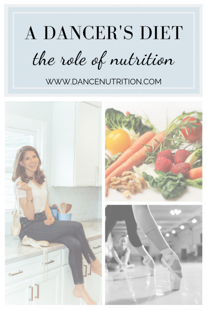the role of nutrition in dance