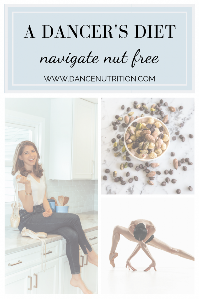 A dancer's diet allergies