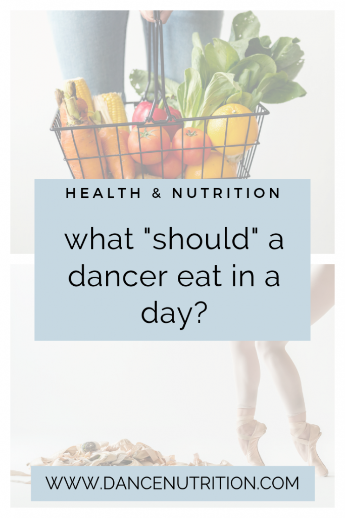 What Should a Dancer Eat in A Day?