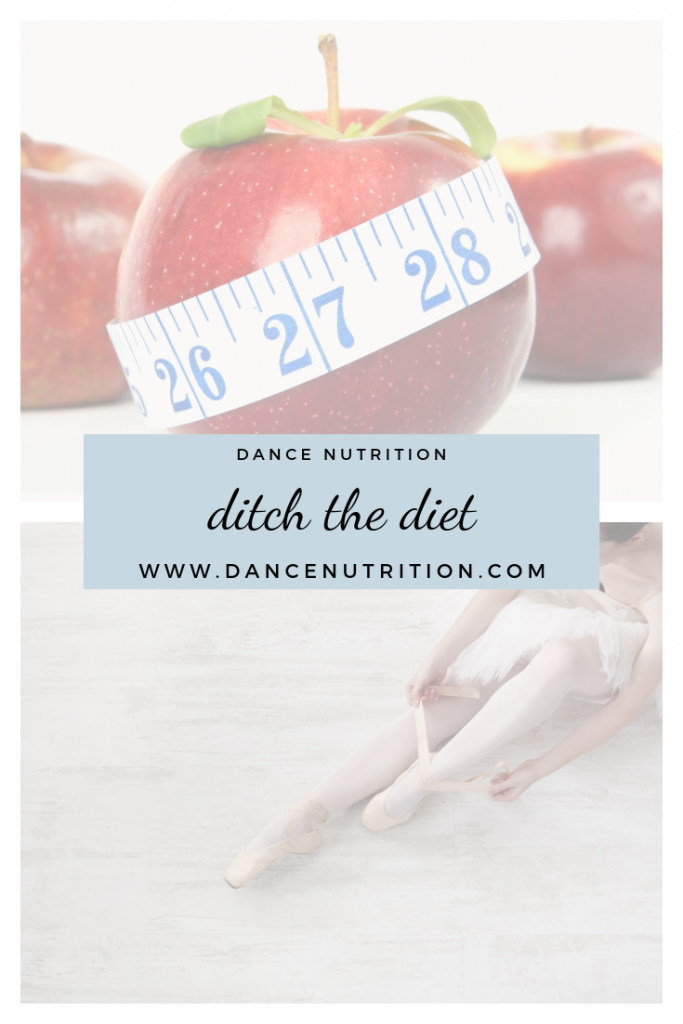 dancer's don't diet