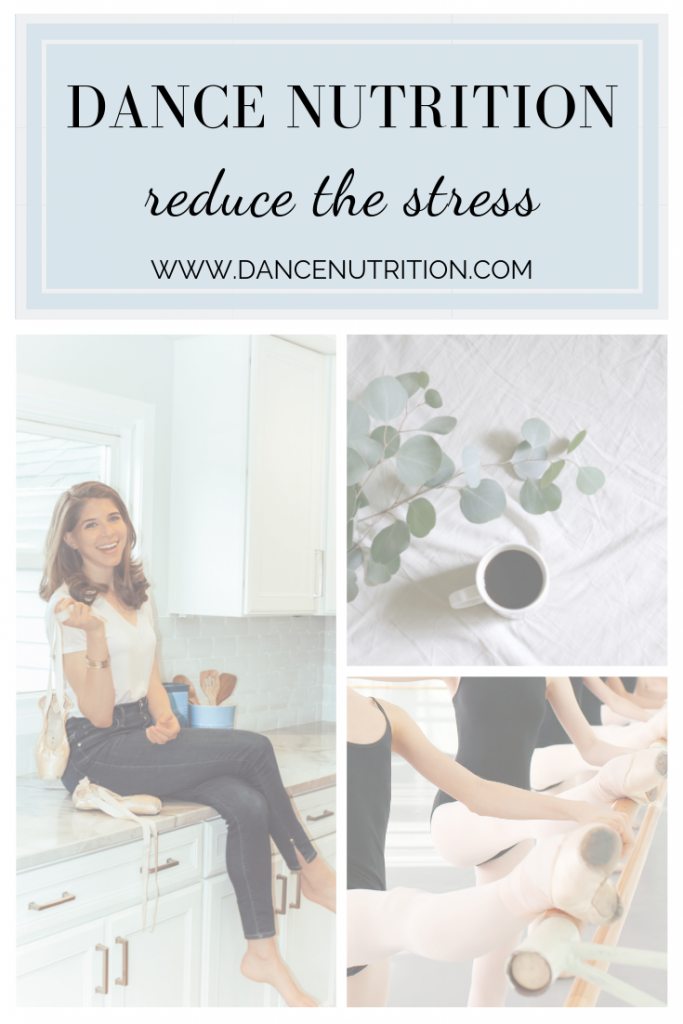 dancer's reduce the stress