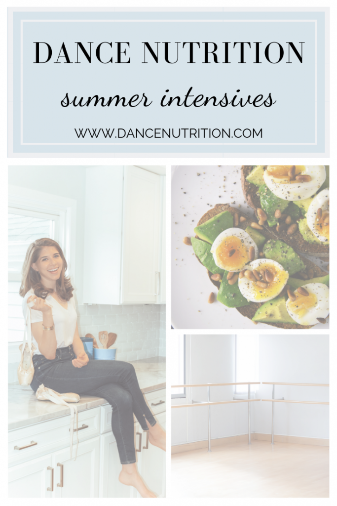 nutrition for summer dance intensives