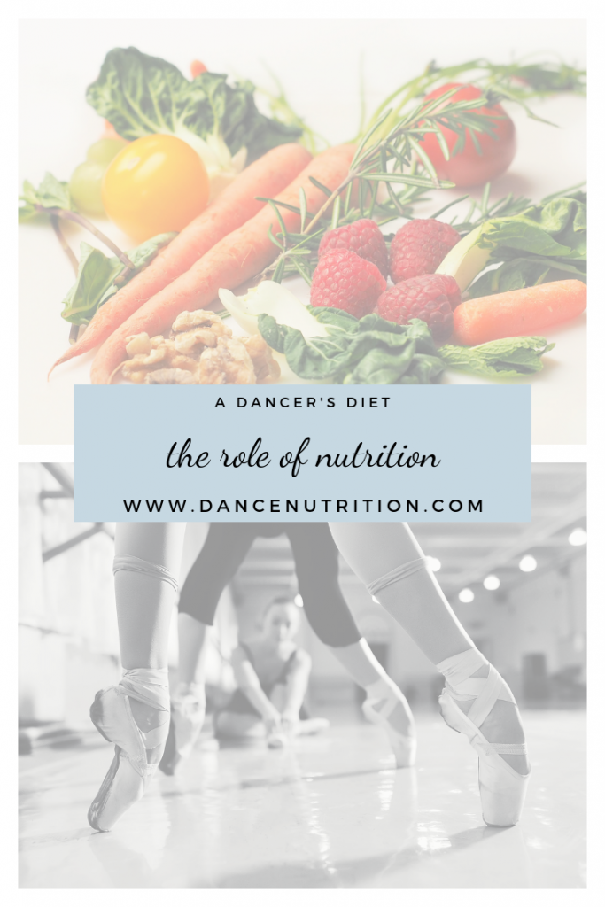 the importance of dance nutrition