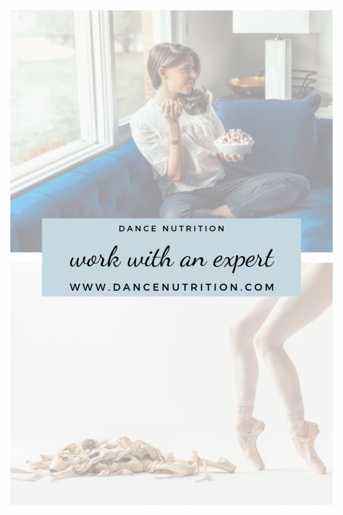 dance nutrition | work with an expert