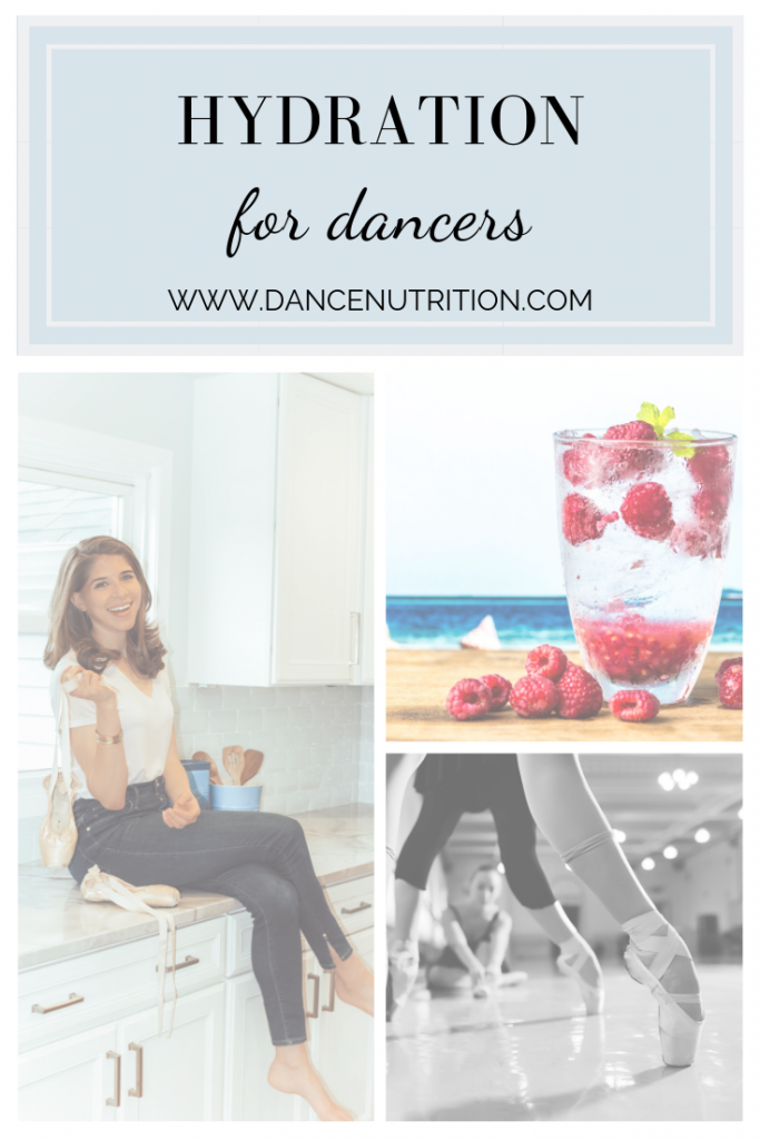 hydration for dancers