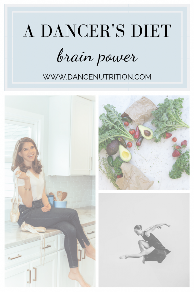 a dancer's diet | brain power