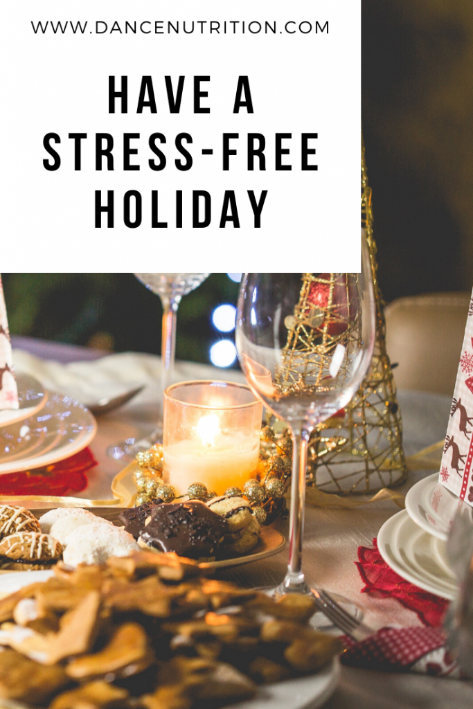 stress free holiday for dancers