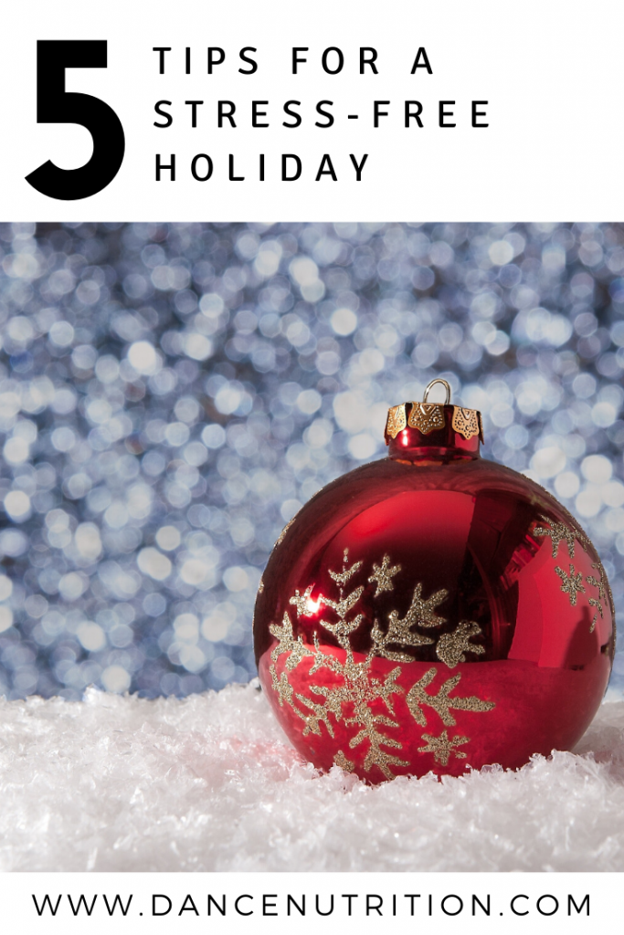 holiday tips for dancers