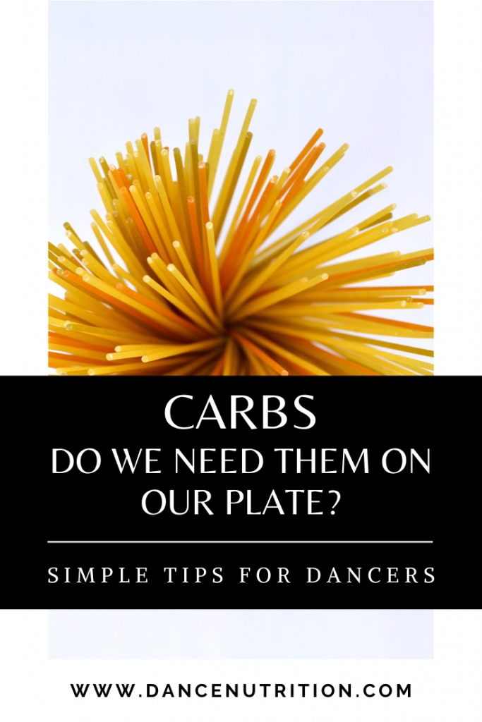carbs for dancers