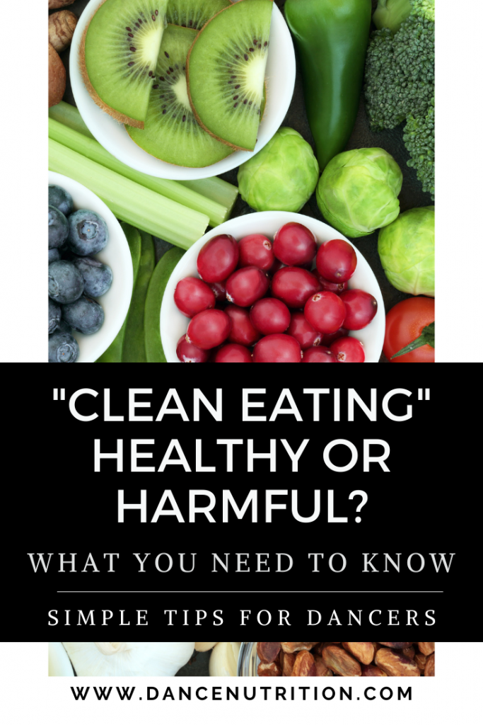 clean eating for dancers
