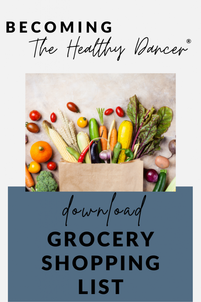 free download for dancers- grocery shopping