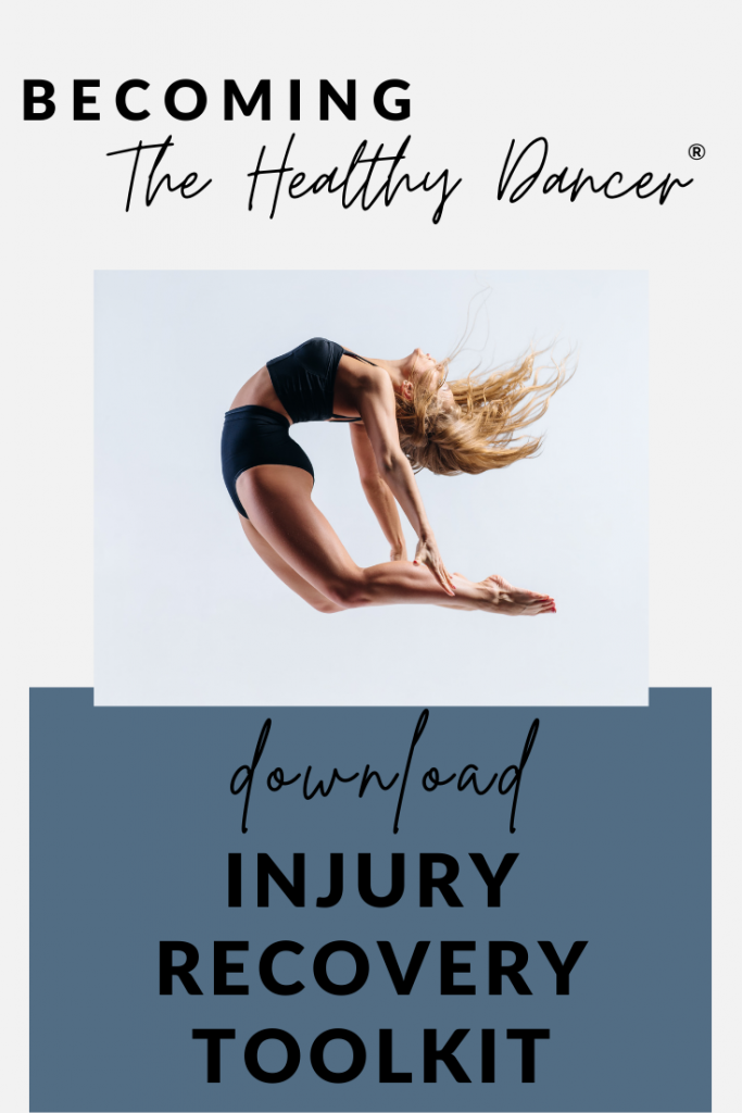 free download for dancers- injury recovery toolkit